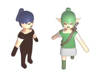 The new sprites in HD